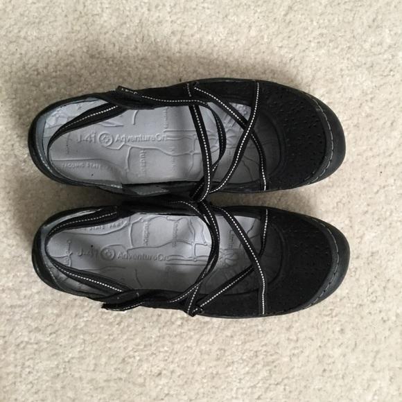 Jambu Shoes - Jambu Black strappy sandals Size 8.5